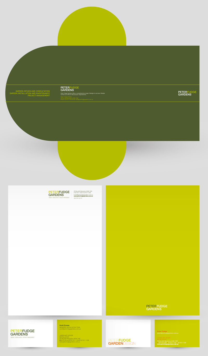 Concept, design and production for logo, branding, printed material ...